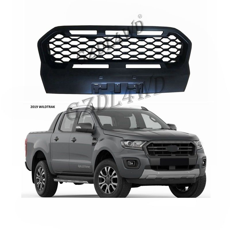 کامیون اتومبیل Wheel Arch Flares 4x4 Offroadet Aftermarket ABS Grilles Front For Ford T8 Wildtrack