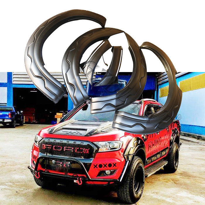 MK2 Wheel Arch Fender Flare For Ford Ranger t7 2015 2016 Trd Design