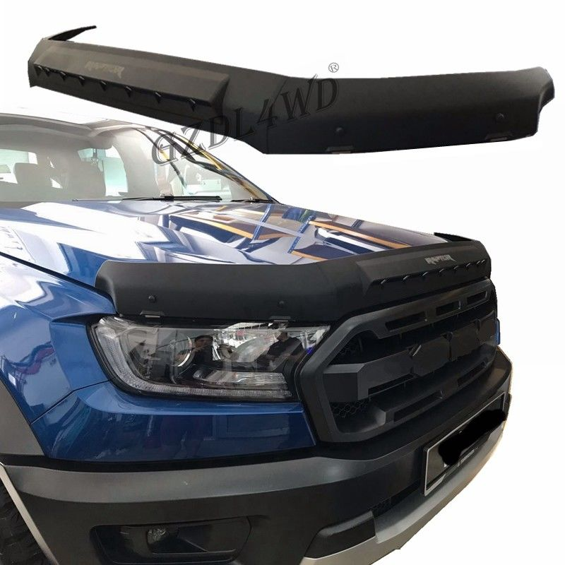 لوازم جانبی وانت OEM 4x4 وانت محافظ ABS Black Bonnet For Ford Ranger T7 T8 2016-2020